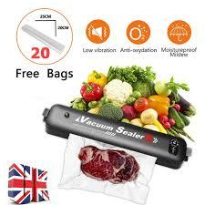 Electric Handheld Home Food Preservation Saver <b>Vacuum Sealer</b> ...