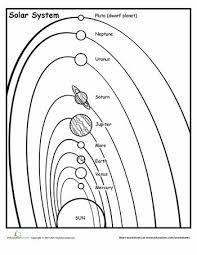 solar system diagram  solar system and solar on pinterestworksheets  solar system diagram