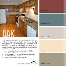 kitchen colors oak cabinets u