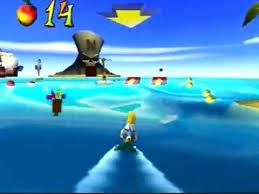 Crash Bandicoot 3: Warped - Level 5: Makin' <b>Waves</b> (Crystal/<b>Gem</b> Get)