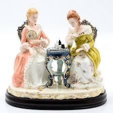 Купить <b>статуэтка</b> на деревянной подставке <b>royal classics</b> 25х30 ...