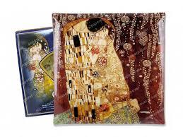 <b>Тарелка квадратная Поцелуй</b> (<b>Г</b>.Климт) Carmani
