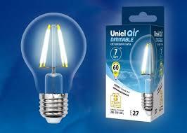 <b>Лампочка</b> светодиодная диммируемая <b>Uniel Air</b>, A, UL-00002874 ...