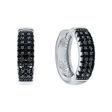 Серебряные <b>серьги кольца</b> — купить сережки конго из серебра ...