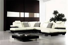 Of Living Rooms With Black Leather Furniture White And Black Leather Sofa Hotornotlive