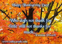 Happy Thanksgiving Quotes, Wishes and Thanksgiving Messages | Cathy