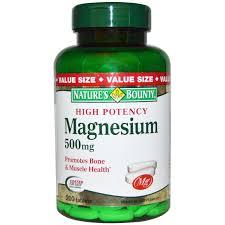 <b>Магний</b> оксид, Magnesium, Nature's Bounty, <b>500 мг</b>, <b>200</b> таблеток ...