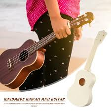 Ukulele <b>DIY</b> Kit 21 inch Handmade Hawaii <b>Mini Guitar</b> Kids Children ...
