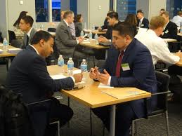 morgan stanley hosts mock interview and networking event for acp morgan stanley event