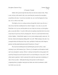 sample personal narrative essays narrative essays about life