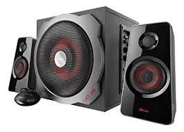 <b>Trust GXT 38</b> 120-Watt <b>2.1</b> Gaming Speakers with Subwoofer for PC ...