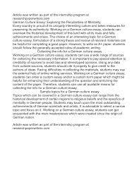 My birthday essay in german   Geo Asia Mr  Lawn