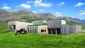 Iceland    s Gorgeous Passive Solar Hof House   Inhabitat New York Cityhof house  studio granada architects  sustainable architecture  green building  green roof