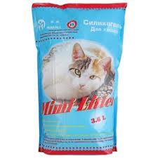 <b>Наполнитель Mimi Litter Силикагель</b> Для кошек (3.6 л)