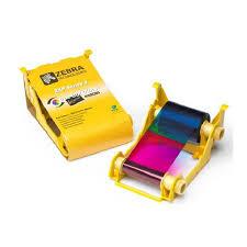 <b>Лента полноцветная</b> для <b>Zebra</b> ZXP3 800033-340 - В Print label