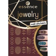 <b>Наклейки для ногтей</b> `ESSENCE` JEWELRY <b>NAIL</b> STICKERS тон 09
