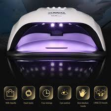 SUNNAIL <b>80W</b> UV LED <b>Nail Lamp</b> Professional Sunlight Nail <b>Gel</b> ...