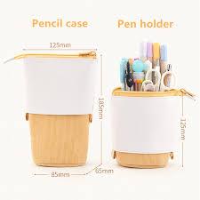 Creative Retractable pencil case school stationery <b>Storage bag Kawaii</b>