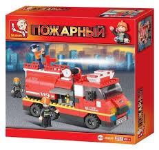 <b>Конструктор SLUBAN Пожарные спасатели</b> M38-B0220 — купить ...