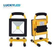 LUCKYLED 10W 20W Floodlight Rechargeable <b>LED Flood Light</b> ...