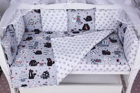 Комплект в кроватку <b>AmaroBaby</b> Time to Sleep Котики, AMARO ...