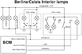 vy dome lamp install electrical the mapping of colours between the vy lamp and the berlina calais wiring is