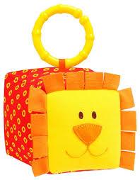 Купить <b>Подвесная игрушка</b> Мякиши Львенок (259) оранжевый ...