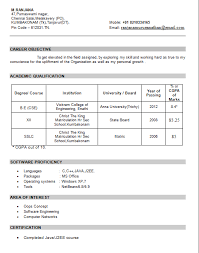 resume templates than cv formats for free download free resume samples for freshers