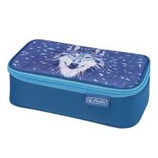 <b>Пенал</b>-<b>косметичка Herlitz</b> BEAT BOX Wolf купить по цене 1250 ...