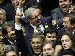 Resultado de imagem para Dilma Eduardo Cunha