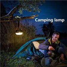 USB <b>Super Bright Rechargeable LED</b> Camping Tent Fishing Lamp ...