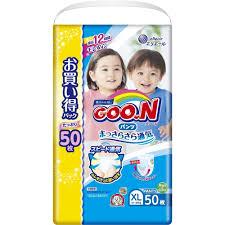 Купить трусики-<b>подгузники Goon XL</b> (<b>12-20</b> кг) 50шт унисекс в ...