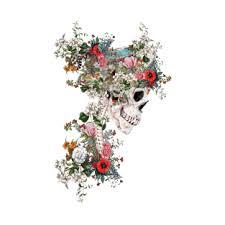 <b>Floral Skull T</b>-<b>Shirts</b>   TeePublic