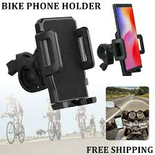 Bicycle Phone Holder Mount <b>MTB</b> Bike <b>Motorcycle</b> Handlebar For ...