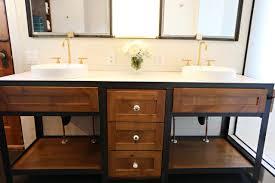 over the bathroom sink shelf
