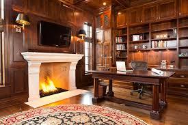 glencoe residence6 study traditional home office atherton library traditional home office
