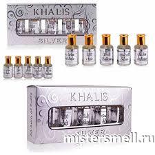 Каталог Подарочный набор <b>Khalis Silver Set</b> 5x12 ml от интернет ...