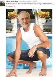Twitter pays tribute to Jeremy Corbyn by Photoshopping MP's face ... via Relatably.com