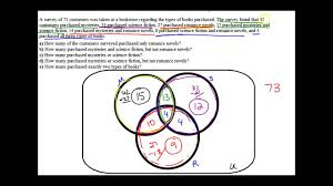venn diagram application problem  sets   youtube   venn diagram application problem  sets