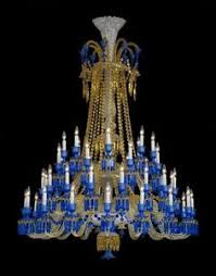 baccarat full lead crystal zenith long chandelier baccarat zenith arm black crystal chandelier
