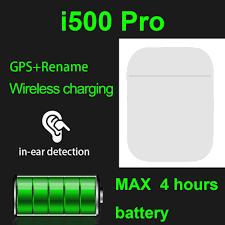<b>2020 new original</b> i500 Pro renamed GPS in ear Bluetooth headset ...