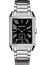 <b>Часы Romanson TM7237MW</b>(<b>BK</b>) - купить мужские наручные ...