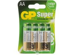 Купить <b>батарейку GP Super Alkaline</b> 15A LR6 AA по цене от 440 ...