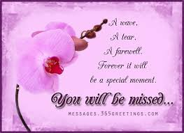 Farewell Messages, Farewell Wishes and Sayings Messages, Greetings ... via Relatably.com