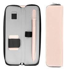 MoKo Holder Case for Apple Pencil, <b>PU</b> Leather Case <b>Carrying</b> Bag ...
