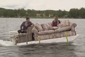 odd jobs slednecks palin tv our trip through alaska reality tv cast members on mtv s slednecks cruise on a boat made from a couch