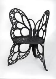 Flower House FHBC205 <b>Butterfly Chair</b>, <b>Black</b> - Eminauntghaia