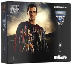 Подарочный <b>набор Gillette</b> Лига справедливости: гель для бритья ...