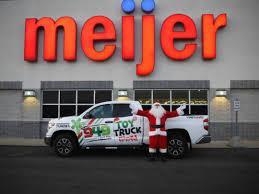 meijer meijer toy truck amp santa meijer spreads holiday cheer to children in need meijer community