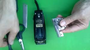 Как смазывать <b>ножевой блок</b> - <b>Oster</b> 616 парикмахерская ...